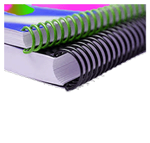 24 Hour Rush Document Printing - Coil Binded Report Service available
